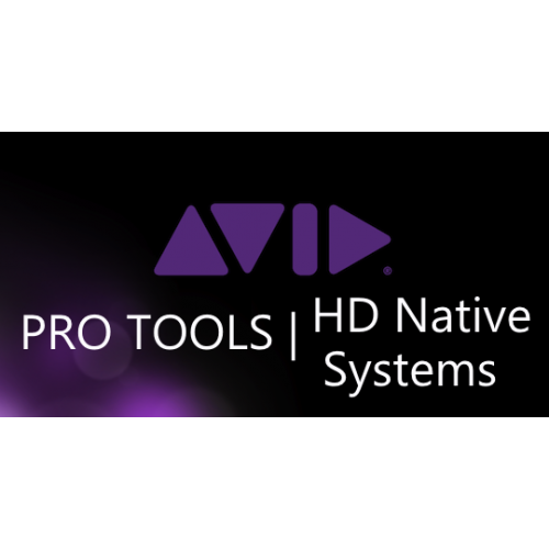 Pro Audio > PRO TOOLS | HD Native Sytems