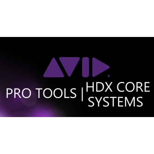 Pro Audio > PRO TOOLS | HDX CORE Systems Plus Interface Bundles