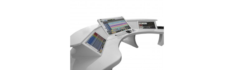 Slate - RAVEN Z3 Triple Touchscreen Workstation Full, White Gloss