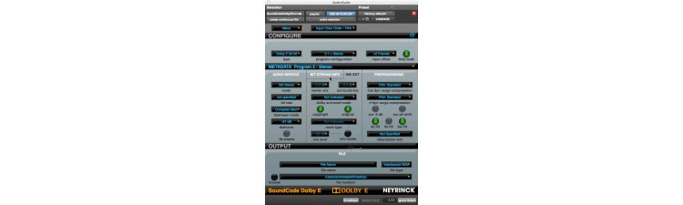 SoundCode For Dolby E Encoder
