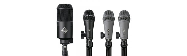 Telefunken DD4 Dynamic DRUM Mic Pack