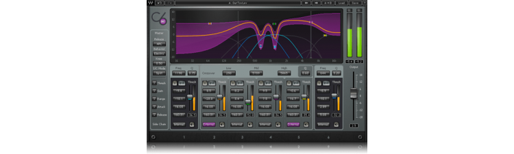Waves: C6 Multiband Compressor