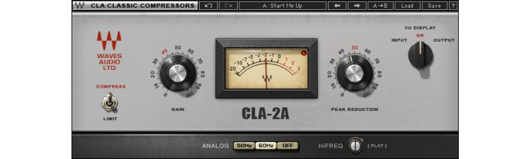 Waves: CLA-2A Compressor / Limiter