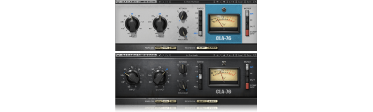 Waves: CLA-76 Compressor / Limiter
