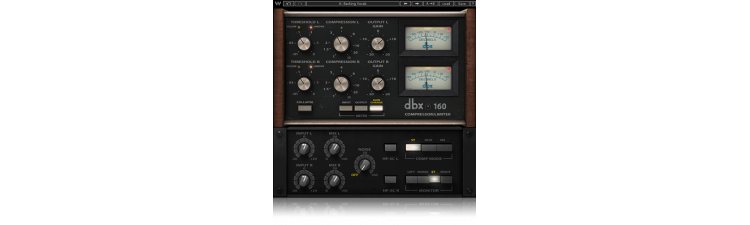 Waves: dbx® 160 Compressor / Limiter