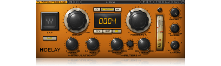 Waves: H-Delay Hybrid Delay