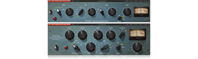 Waves: PuigTec EQs