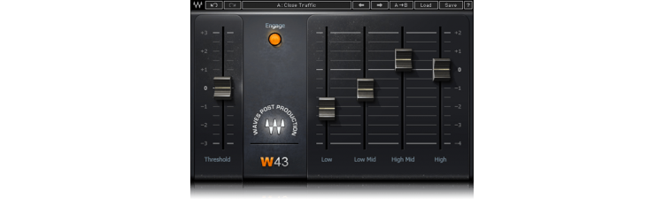 Waves: W43 Noise Reduction Plugin