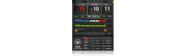 Waves: WLM Plus Loudness Meter