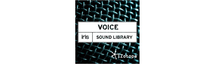 iZotope Sound Libraries for Iris VOICE