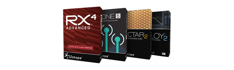 iZotope: Studio & Advanced Repair Bundle