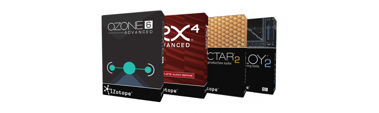 iZotope: Studio & Repair Bundle, Advanced Edition